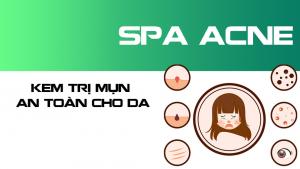 thuốc trị mụn spa acnes